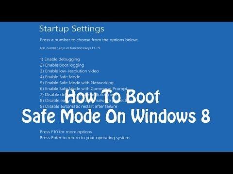 Windows 10 in modalità provvisoria