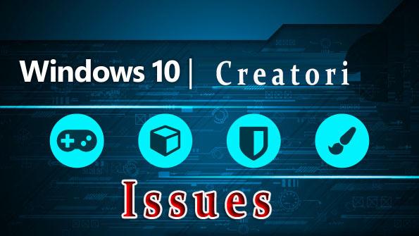 come risolvere gli errori di aggiornamento di Windows 10 Creatori