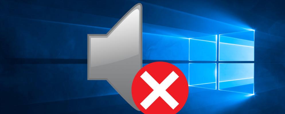 riparazione problema volume di Windows 10