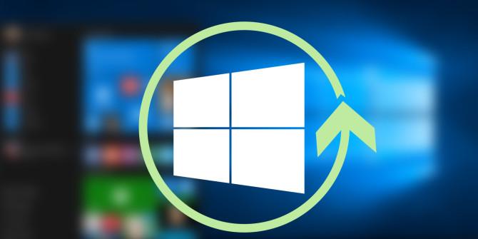 processo di reinstallazione di Windows 10