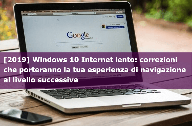 Windows 10 internet lento