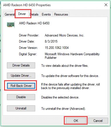 problema grafico dopo l'aggiornamento di Windows 10,